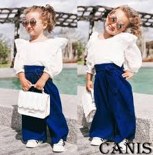 Aliexpress.com : Buy <b>2019 Toddler Kids Girl</b> Outfits Clothes White ...