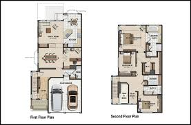Color D Graphics   Floor Plans    Sample of color floor plan design for house