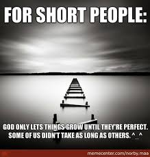 For Short People by norby.maa - Meme Center via Relatably.com