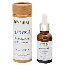 REFRESH REGENERATING FACE SERUM <b>LEVRANA</b> Organic 30ML