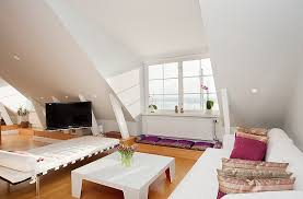 attic living room design youtube:  attic living rooms that really are the best adorable home com