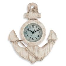 small bathroom clock: full size of kitchen antique wall clock kitchen anchor shape nautical kitchen accessories wooden material