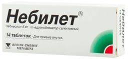 <b>Небилет</b>, <b>5 мг</b>, таблетки, <b>14</b> шт. — купить в Ставрополе ...