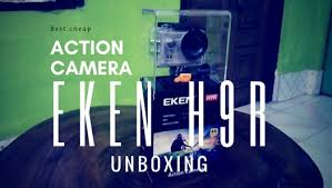 Eken <b>H9R</b>/<b>Eken H9</b> Best Chep 4K <b>Action</b> Camera Unboxing and ...