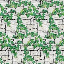 Ivy Wall <b>Patterned</b> Flat Paper | Wall patterns, Ivy wall, <b>Halloween</b> ...