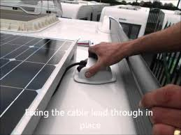 Fitting a Truma <b>Solar Panel</b> on a <b>caravan</b> - YouTube