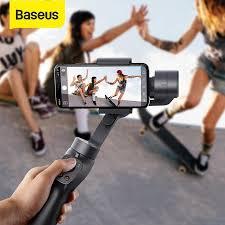<b>Baseus 3-Axis Wireless Bluetooth</b> Selfie Stick Handheld Gimbal ...