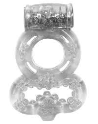 Купить виброкольцо <b>RINGS TREADLE</b> прозрачный в Нижнем ...