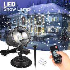 Mini <b>Snowfall Projector IP65 Moving</b> Snow Outdoor Garden Laser ...