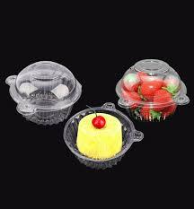 HURRISE <b>100 PCS Plastic</b> Single Individual Cupcake Takeout ...
