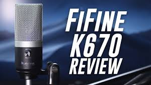 FiFine K670 USB Microphone Review / Test - YouTube