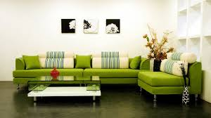 couch bedroom sofa:  living room ideas with artwork portray attach painted over green shaped couch furnishing with square shelving and black flooring