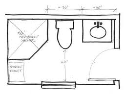 small bathroom floor plans with shower