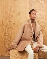 Short sheepskin coat — <b>12Storeez</b>