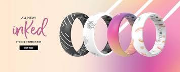 Enso Rings: <b>Silicone</b> Rings | <b>Silicone</b> Wedding <b>Bands</b> | Unique ...