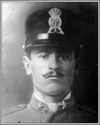1918, 20 - Muore sul Montello, all'età di anni 21, il Tenente Di Fazio Vincenzo (Benedetto Luigi) del 29° Reggimento Fanteria, 2° Compagnia, ... - tenente-Vincenzo-di-Fazio-241x300