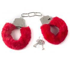 Купить <b>Наручники</b> плюшевые сувенирные <b>красные</b> в Секс шоп в ...