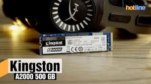 <b>Kingston A2000</b> 500 ГБ – обзор <b>накопителя</b> - YouTube