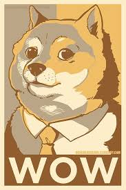 SUCH DOGE. AMAZE. MANY POSTER. WOW. 12x18 inch glossy poster no ... via Relatably.com
