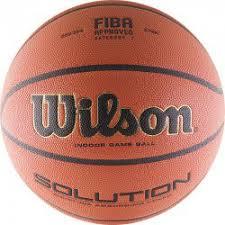 <b>Мяч баскетбольный WILSON</b> Solution VTB24 купить в ...
