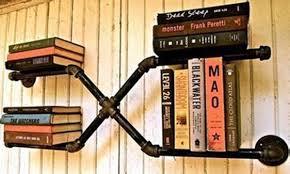 loft american country style furniture wrought iron wall shelf bookcase shelf art exhibition shelf water cheap loft furniture
