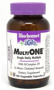 Bluebonnet Nutrition <b>Multi One</b>® <b>Single Daily</b> Multiple (With Iron ...