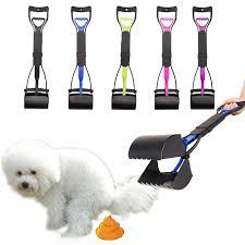 <b>Pet Pooper</b> Scooper <b>Long</b> Handle Jaw <b>Poop</b> Scoop Clean Pick Up ...