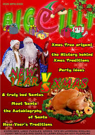 "X-mas VS New Year! Double issue of ""BigChilli"" by Linguistic ..."