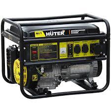 <b>Бензиновый генератор Huter DY9500L</b>: купить в Москве, цена