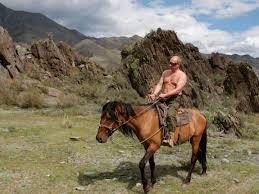 The Bipartisan, Cross-Network Love Affair With Putin's <b>Bare Chest</b> ...