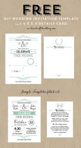 17 best ideas about invitation templates printable wedding invitation template