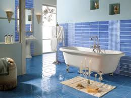 blue bathroom tile ideas: blue bathroom d cor interior designing ideas