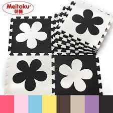 Meitoku Flower <b>baby EVA</b> foam play Puzzle mat / <b>10pcs</b>/lot ...