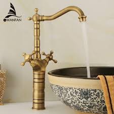 Free shipping dual handle tap basin faucets bathroom mixer faucet ...