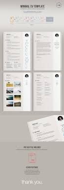 17 best ideas about simple cv template simple cv a minimal easy to edit resume template version comes in illustrator vector ai
