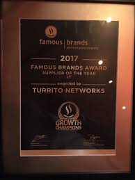 Turitto Emerges <b>Famous Brands</b> IT Partner Of <b>2017</b> - Dial a Nerd