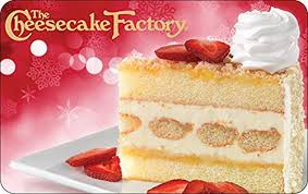 The Cheesecake Factory Email Gift Card: Gift Cards - Amazon.com