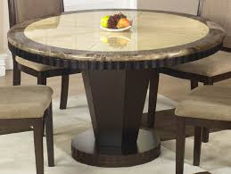 Round Marble Kitchen Table Sets Wood Dining Table With Bench Wooden Based Dining Tablr With Round