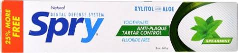 Spry Anti-Plaque Tartar Control Spearmint Toothpaste, 5 oz - Kroger