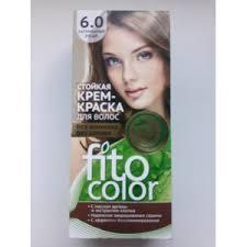 <b>Стойкая крем-краска для</b> волос Fito Color без аммиака без запаха