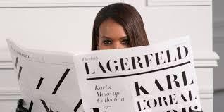 <b>Karl Lagerfeld</b> Is Launching a <b>Makeup</b> Range With L'Oréal Paris ...