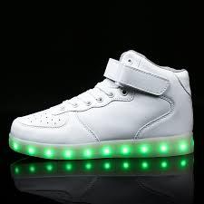 <b>kids Led</b> usb charging <b>glowing Sneakers Children</b> hook loop ...