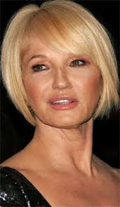 Image result for older women with bangs