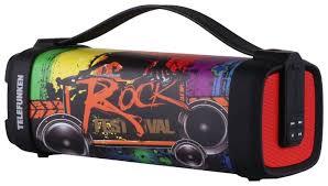 Купить <b>Портативная</b> акустика <b>TELEFUNKEN TF</b>-<b>PS1241B</b> rock по ...