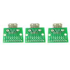 <b>3PCS USB</b> 3.0 Female To DIP <b>Board</b> Module 9pin <b>Adapter</b> ...