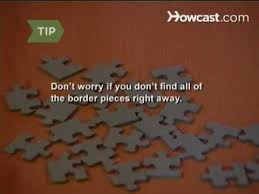 How to Solve a Jigsaw Puzzle - YouTube