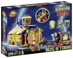 <b>Конструктор Cobi</b> Monsters vs. Zombies 28390 Дом... — купить по ...