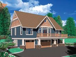 Carriage House Plans   Craftsman Style Carriage House Plan      Carriage House Plan  G