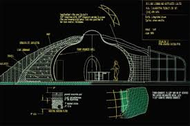 Underground Home Design  How to Build  amp  Bury a Houseunderground home plan drawing