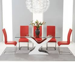 gloss dining table sets high
